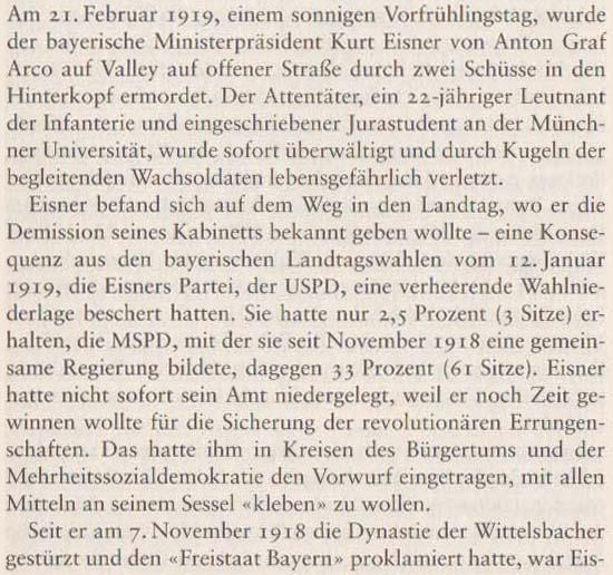 Volker Ullrich: Die Revolution von 1918/19, 2009, Seite 91