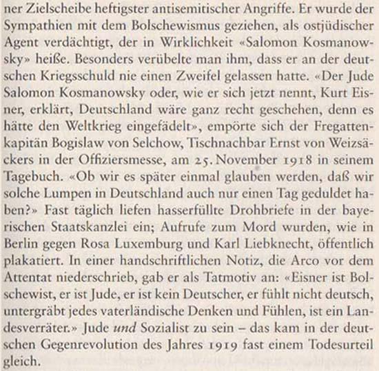 Volker Ullrich: Die Revolution von 1918/19, 2009, Seite 92