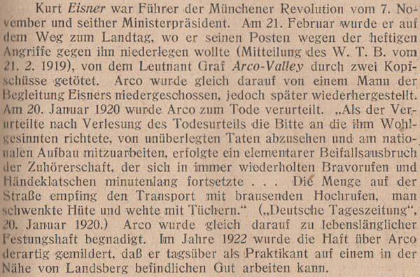 Emil Julius Gumbel: Vier Jahre politischer Mord, 5. Auflage, 1922, Seite 27